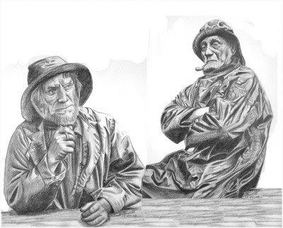 duo de vieux loups de mer