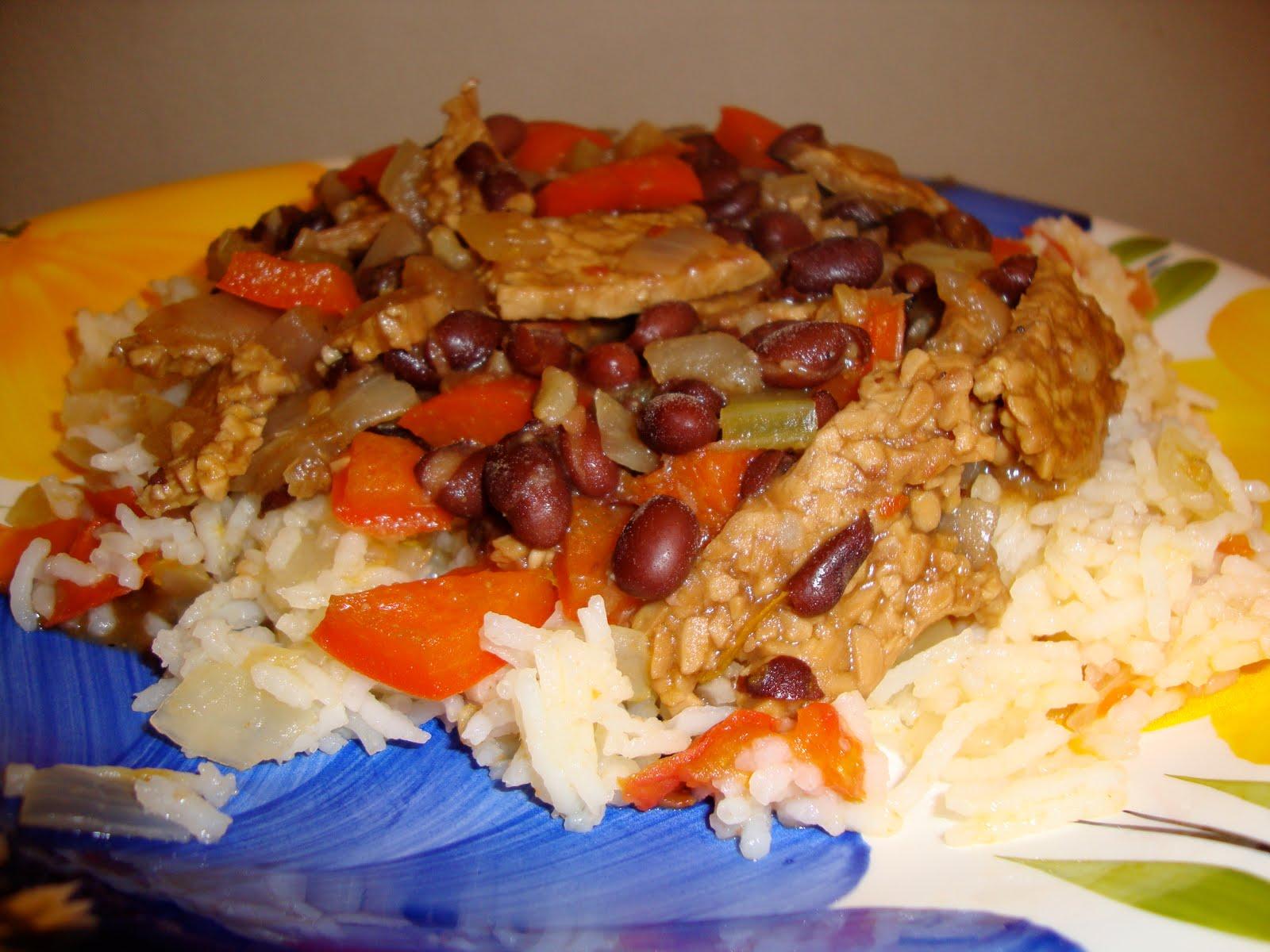 Hungry Vegan: Vegan Feijoada with Brazilian Rice