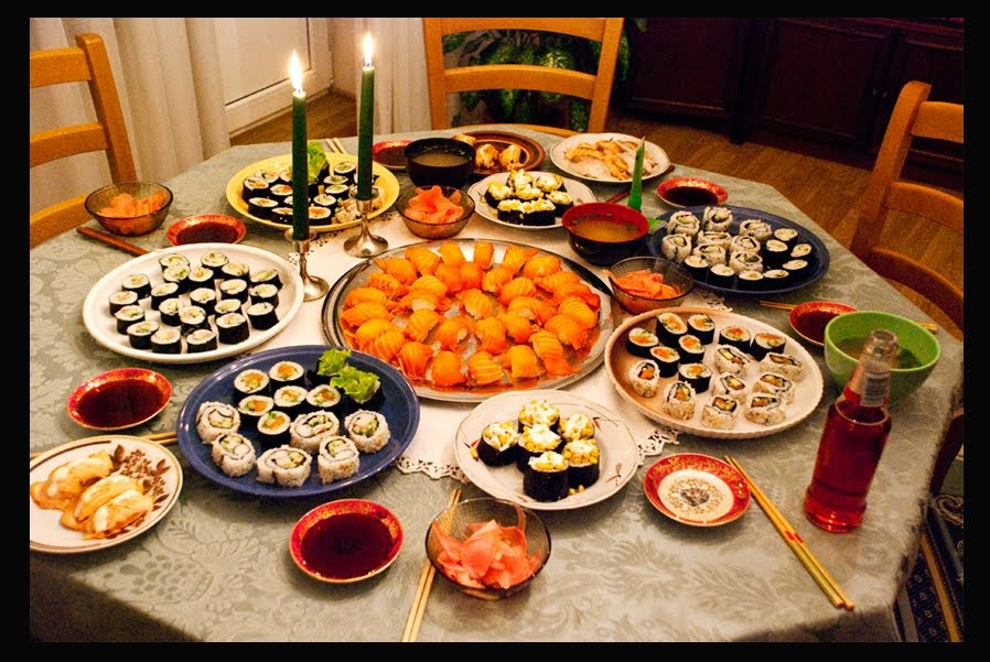 mummu k gis aburi sushi valmistamine. Black Bedroom Furniture Sets. Home Design Ideas