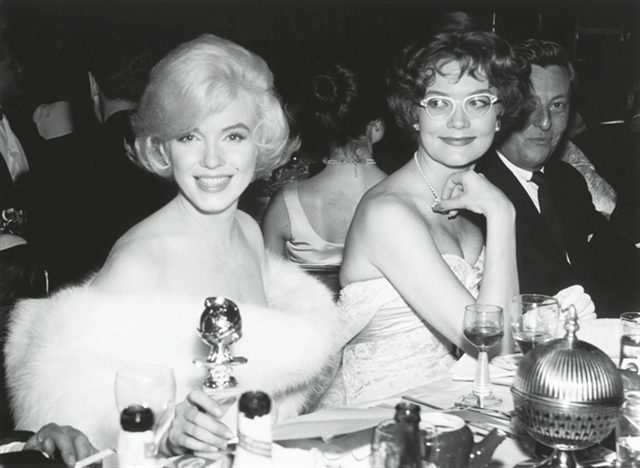 Marilyn Monroe won three Golden Globes between 1953 - 1962