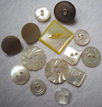 I love Mother of Pearl Buttons...well, buttons in general really!