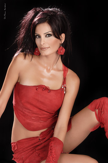 Dominique Hourani  nackt