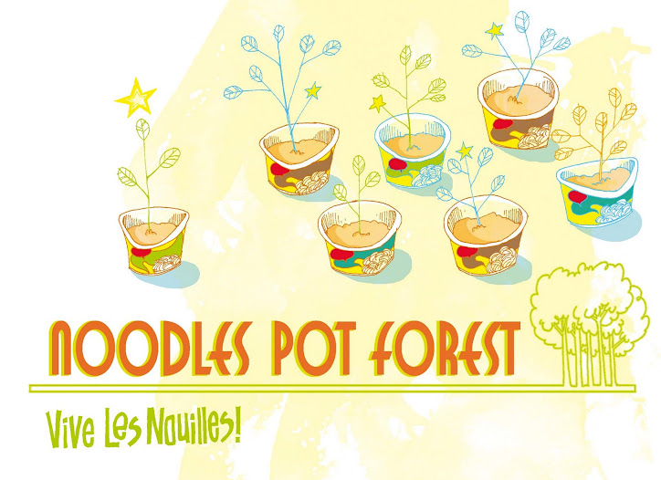 Noodles pot Forest