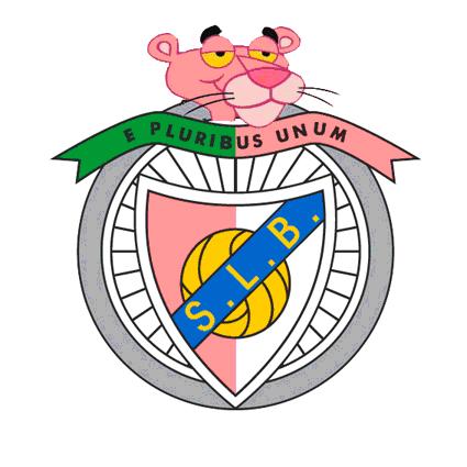 Sport Lisboa e Benfica versão Pink Panther
