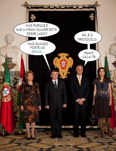 Maria Cavaco Silva, Abdullah II bin al-Hussein, Aníbal Cavaco Silva e Rania al-Abdullah