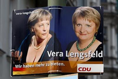 Angela Merkel e Vera Lengsfeld têm mais para oferecer
