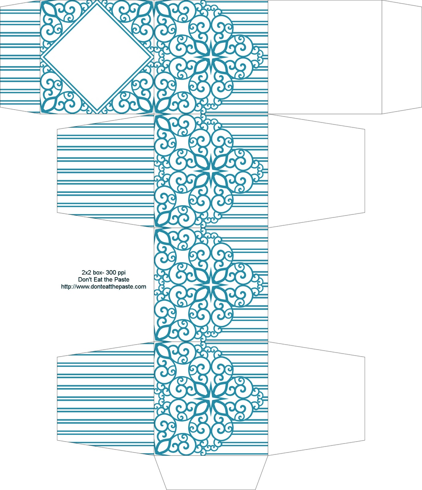 Free Wedding Gift Box Templates : If youre planning a DIY wedding, check out OnePrettyWedding and ...