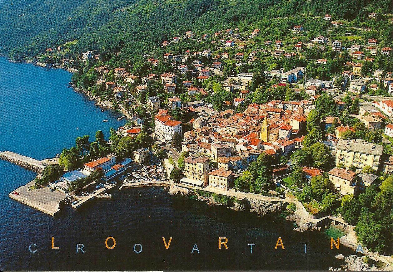 Lovran Croatia  city images : panorama view of the city of lovran in croatia sent by jasmin a ...