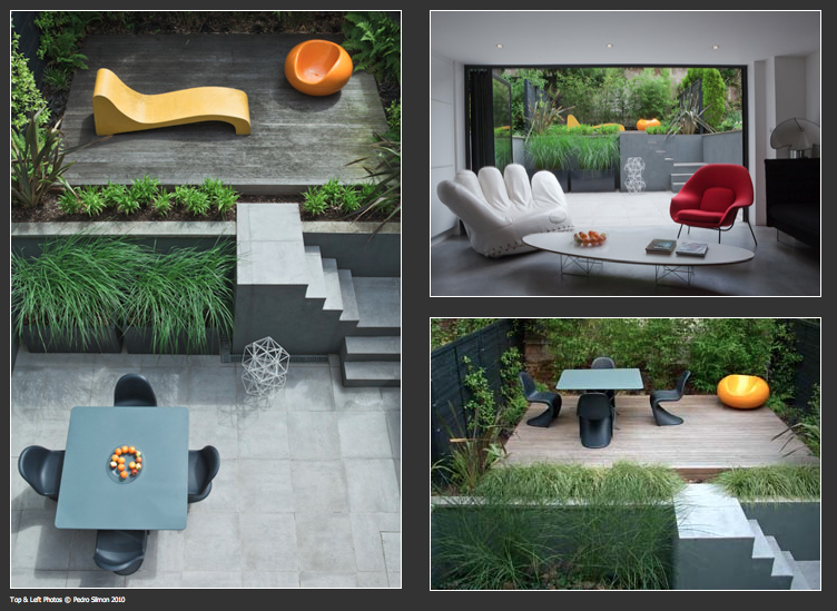 Style and design modern small city garden for Small modern garden