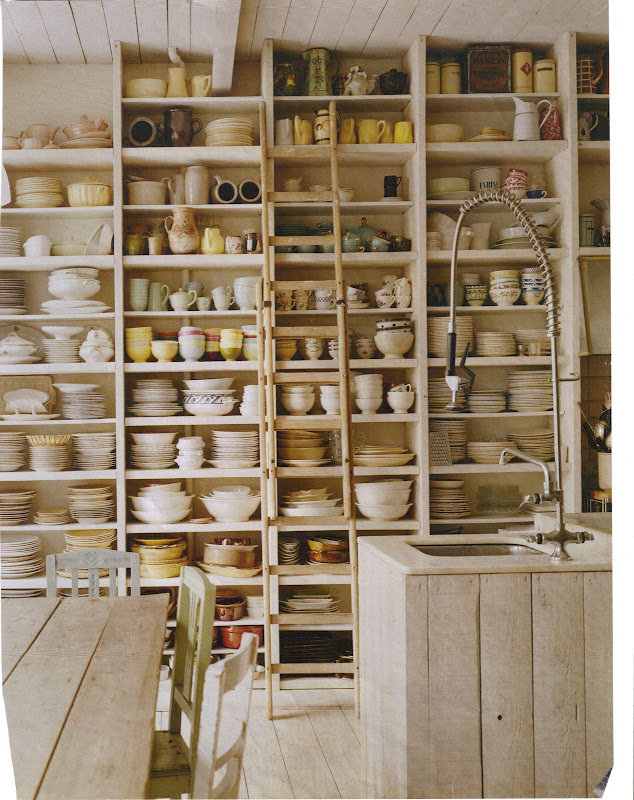 The owner's crockery collection is well displayed title=