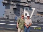 US Navy Veteran Harold Rarden and Wife Jeanne