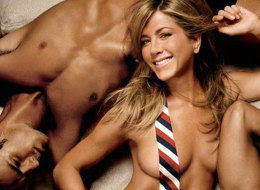 jennifer aniston tits
