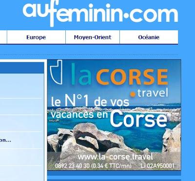 aufeminin.com et la Corse