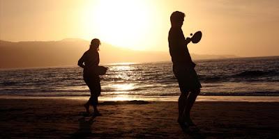 beach tennis en corse