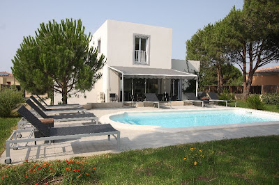 location villa en corse calvi piscine