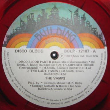Vamps Disco Blood