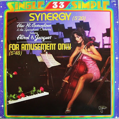 ALEC R. COSTANDINOS & THE SYNCOPHONIC ORCHESTRA - (1979) (VINYL RIP) THE FEATURING ALIROL & JACQUET* - SYNERGY / FOR AMUSEMENT ONLY