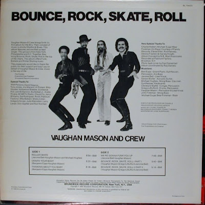 Disco2go Vaughan Mason And Crew 1980 Bounce Rock