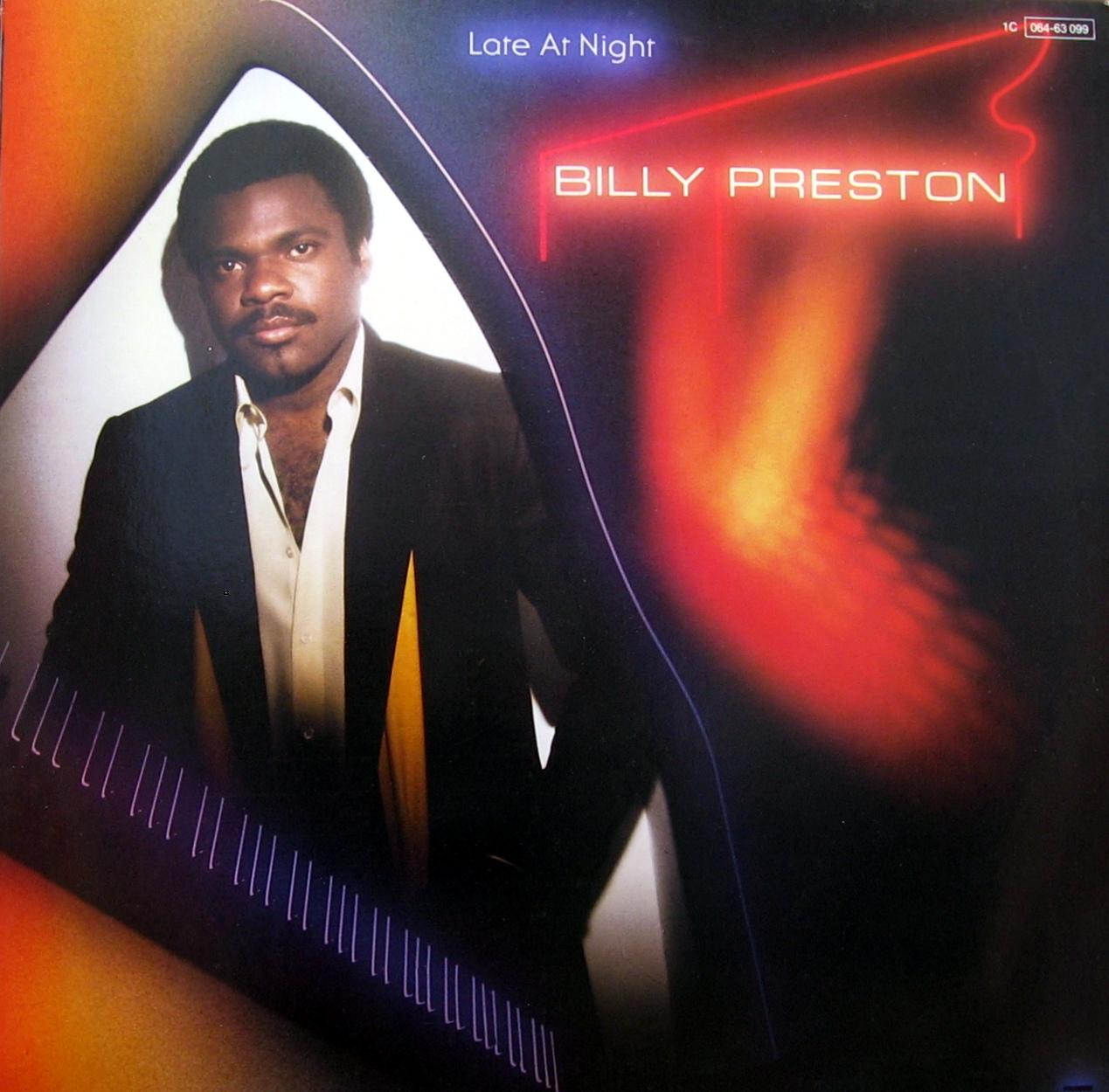 Billy Preston - Give It Up, Hot / Sock It Rocket