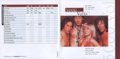 5000 VOLTS - (1997) THE BEST OF (1975 – 1979)
