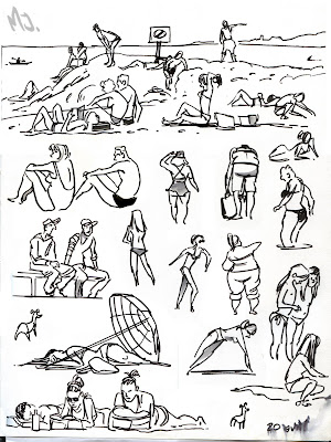 The People At Top Of Page Above Were Silly Tourists Throwing Pebbles Jelly Fish Or Meduse As Theyre Called In French