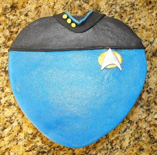 star+trek+grooms+cake Unique Grooms Cakes