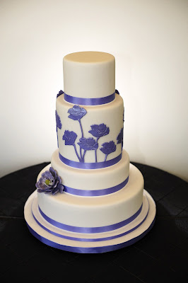 Purple+wedding+cake Intricate Icings Cake Boutique - Open House Party
