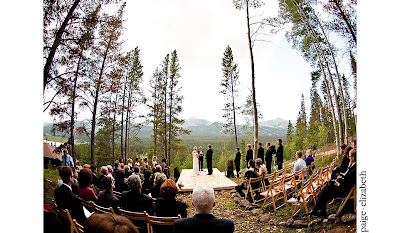 breckenridge+wedding+ceremony Incredible Breckenridge Wedding for Jess and Mike