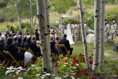 beaver+creek+wedding+ceremony Real Wedding Beaver Creek - Carrie & Ben