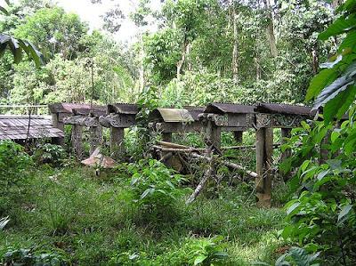 Makam Dayak Benuaq – Kalimantan Timur