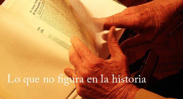 Lo que no figura en la historia