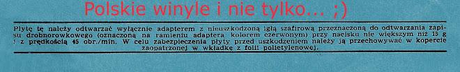 Polskie winyle i nie tylko... ;)
