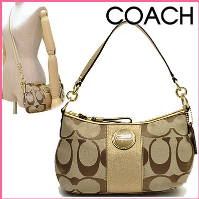 Coach 15111 Signature Demi Stripe