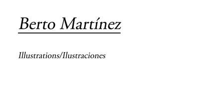 BERTO MARTÍNEZ