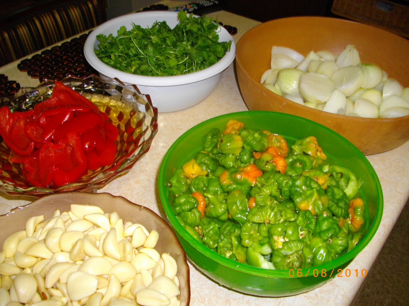 Nuestra cenagan cuisine with a latin flavor homemade sofrito in every puerto rican home you will definitely find a spicy recipe that gives all of their spanish dishes that exquisite caribbean taste forumfinder Images