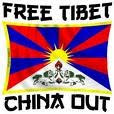 ¡Fuera China del Tibet!