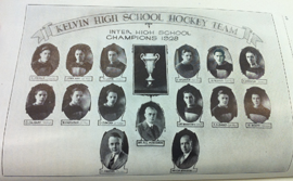 Kelvin High School Hockey 1928