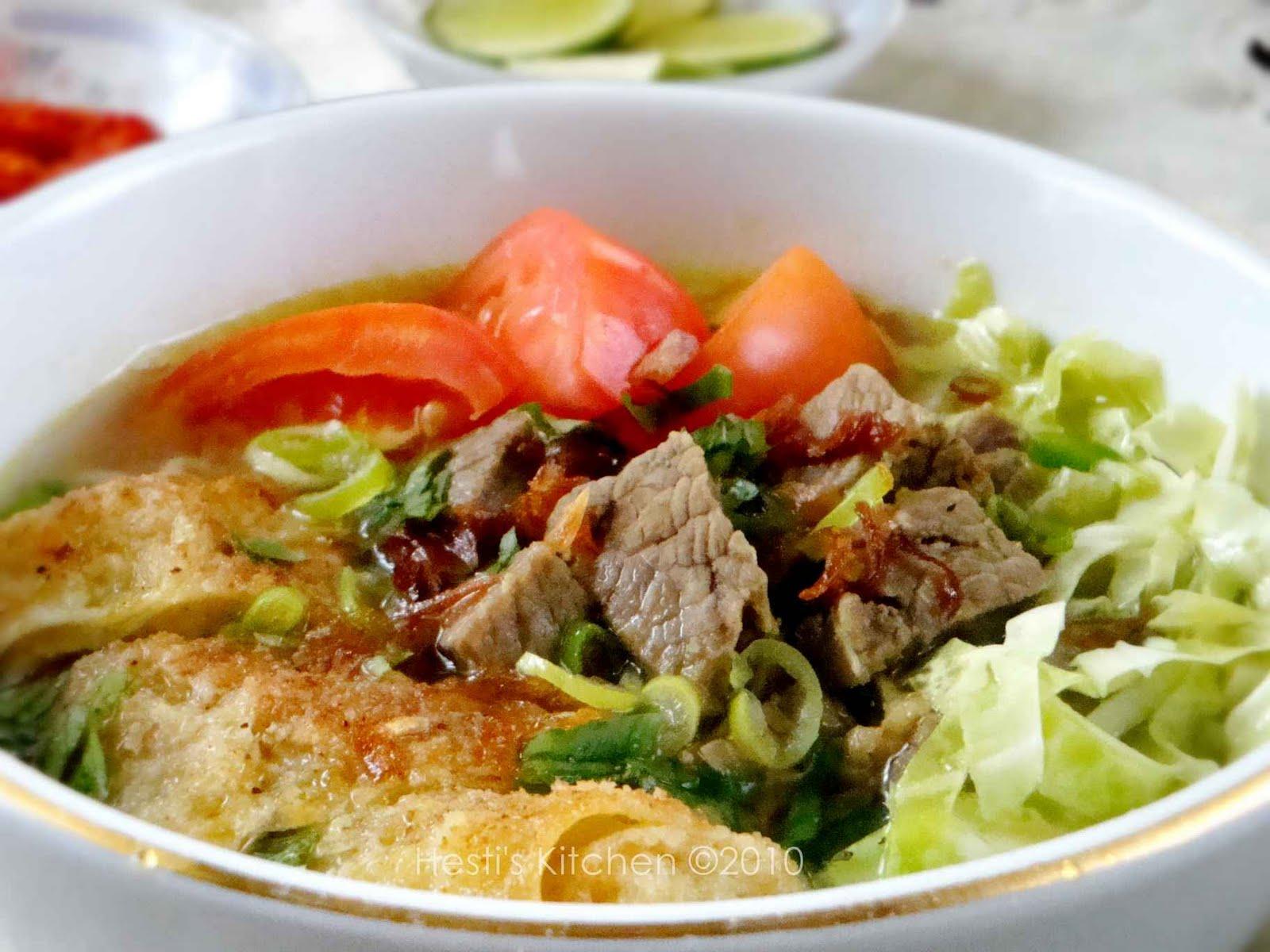 hesti s kitchen yummy for your tummy soto mie
