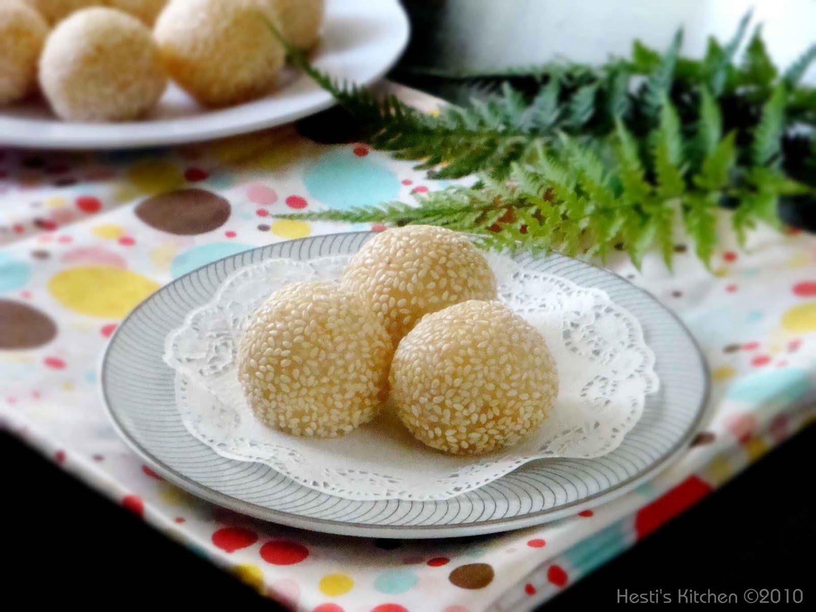 HESTI'S KITCHEN : yummy for your tummy: Onde-onde