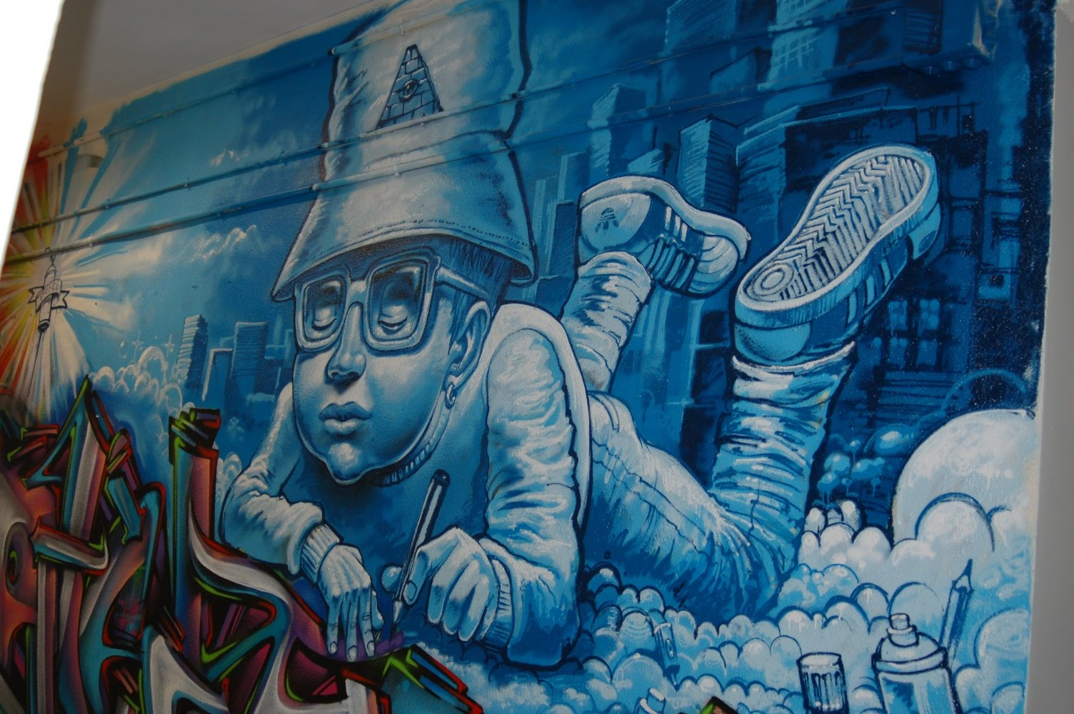 Impresionantes Graffitis (Muchas imagenes)