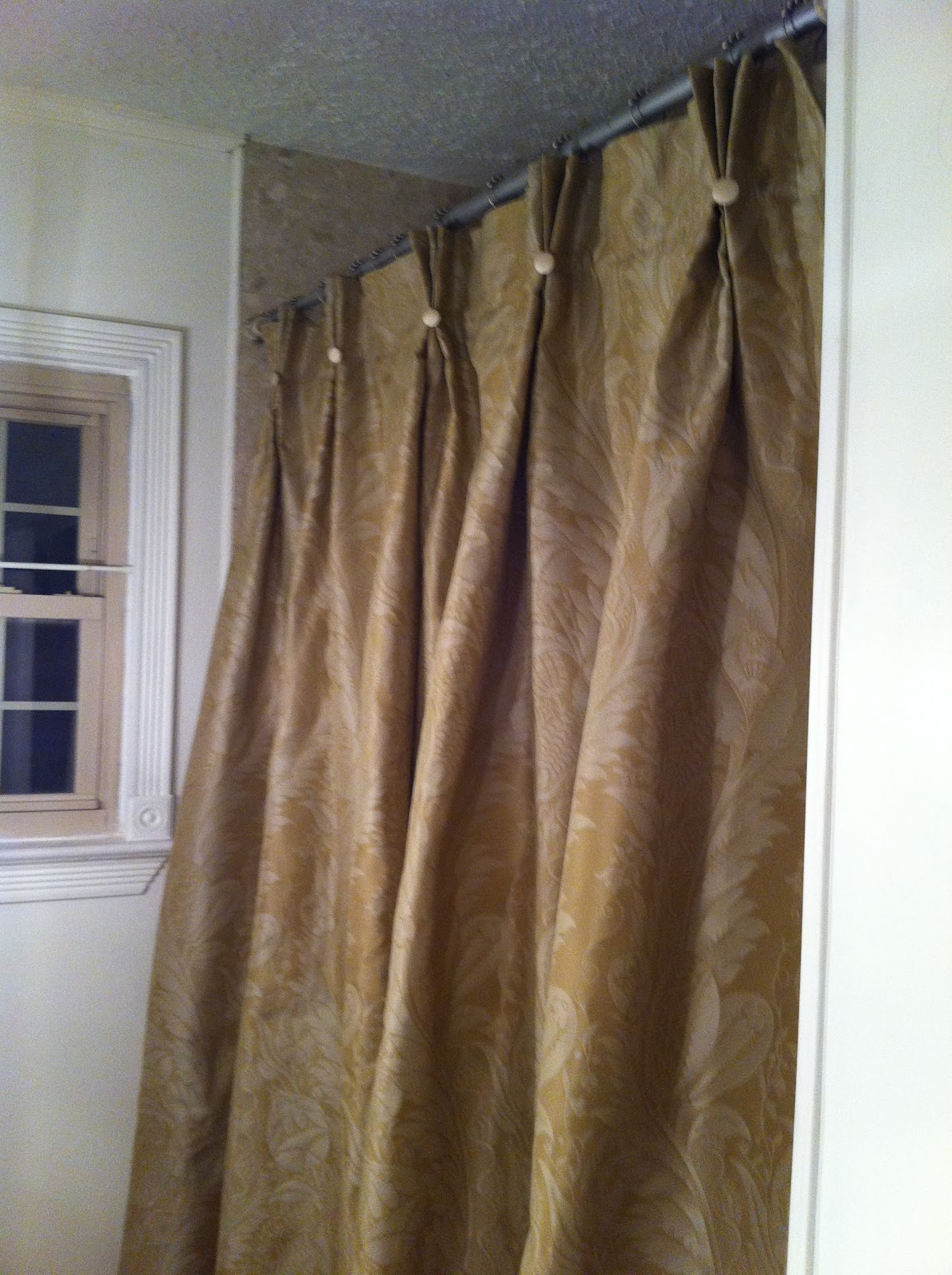 Silver And Gold Curtains