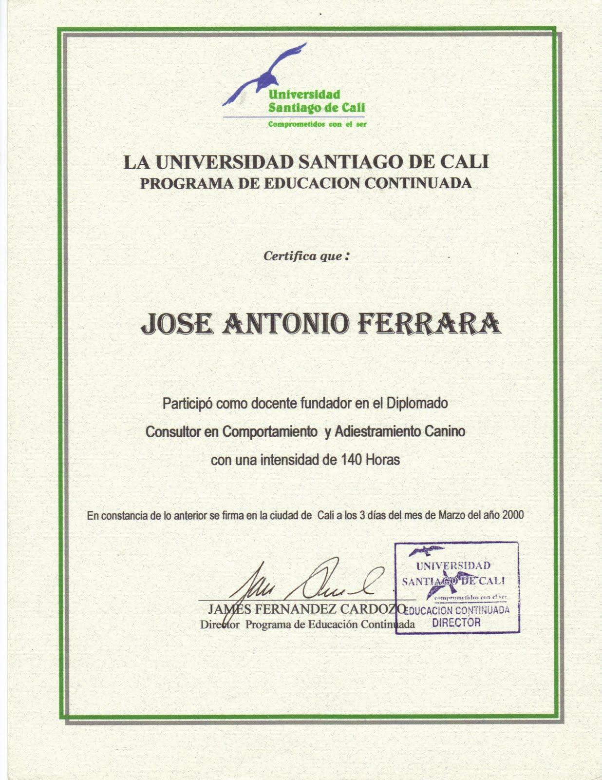 la universidad santiago de cali: