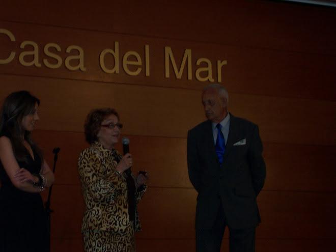 Prsentación en Barcelona del monográfico de Maria-Dolores C.R. junto a Monse Calvo y Jordi LLovet