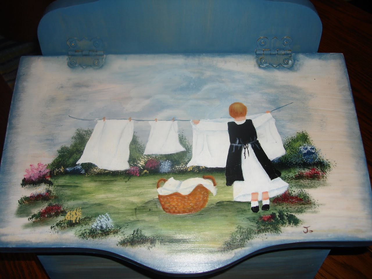Les bidouilles blog de peinture d corative mes 2 l ves for Modele de peinture decorative