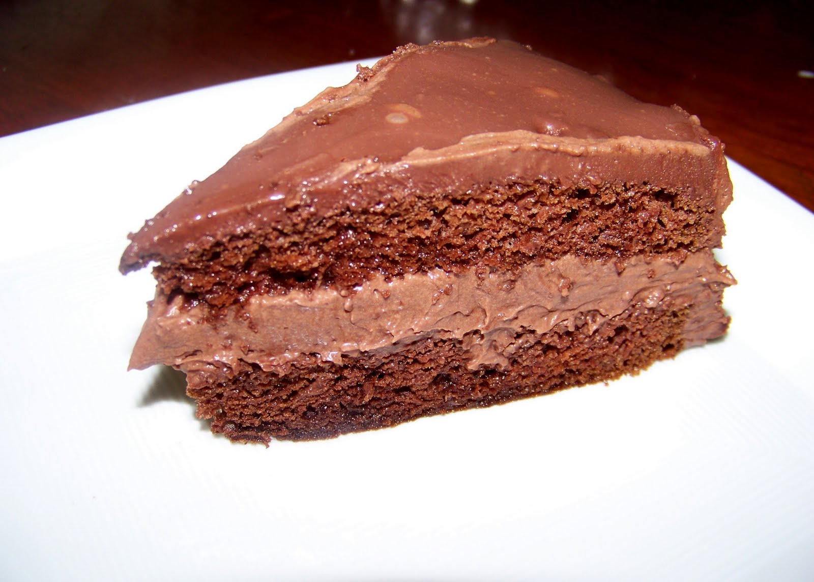 Mocha Layer Cake With Chocolate-Rum Cream Filling Recipes — Dishmaps