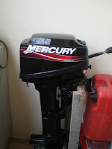 Jentera Mercury Outboard 10HP.
