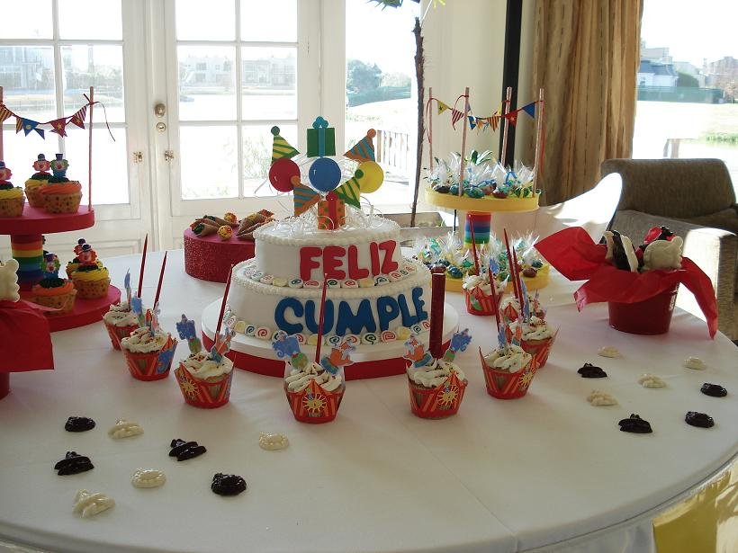 Mesas dulces tematicas