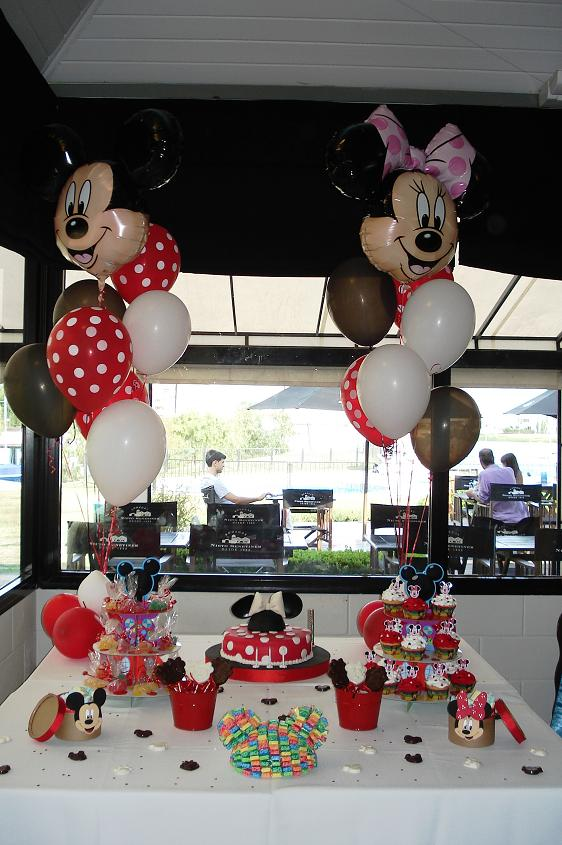 Mesa de dulces de Minnie Mouse