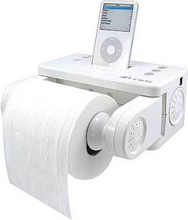 iPod Toilet Paper Holder