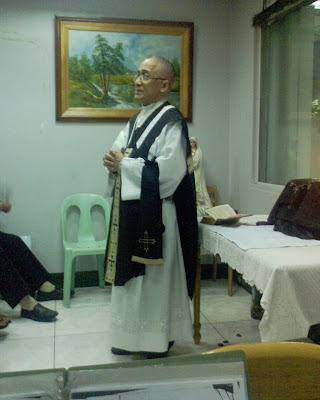 Our esteemed Msgr. Moises B. Andrade reposed in the morning of Monday